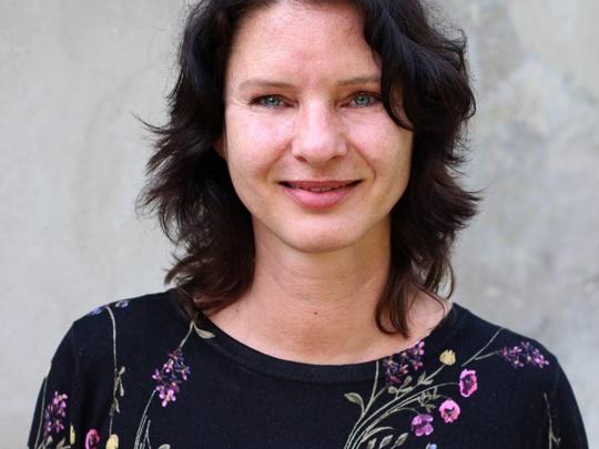 Portret van Marjan de Groot