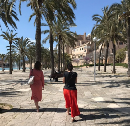 Jenny zonder kids in Palma